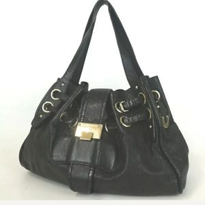 AUTHENTIC  JIMMY CH00 TOTE BAG LEATHER